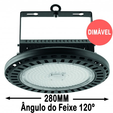 Wiva Campânula LED Aral 120º 280MM 100W 51100022
