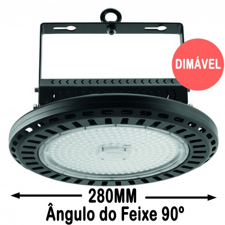 Wiva Campânula LED Aral 90º 280MM 100W 51100014