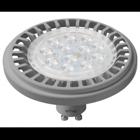 Wiva Led Spot L111 GU10 Silver 12W 3000K 12102304