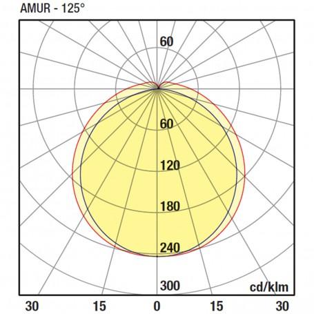 Wiva Armadura Linear Amur 630MM 9W 3000K 51200006