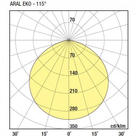 Wiva Campânula LED Aral Eko 115º 280MM 100W 51100017