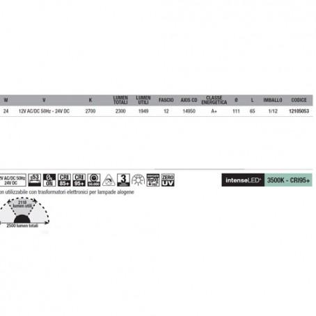 Wiva Eyeled W111 G53 24W 2700K 12105053