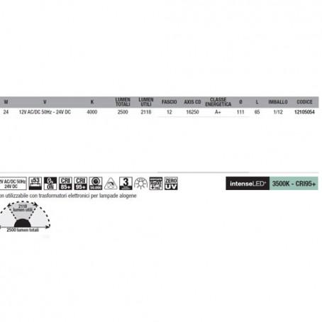 Wiva Eyeled W111 G53 24W 4000K 12105054
