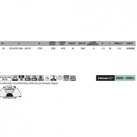 Wiva Eyeled W111 G53 24W 2700K 12105056