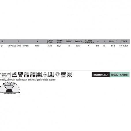 Wiva Eyeled W111 G53 24W 4000K 12105057