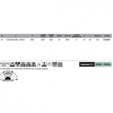 Wiva Eyeled W111 G53 24W 3500K 12105058