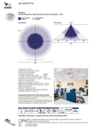 Perry detector de presença e movimento 1SP SP016