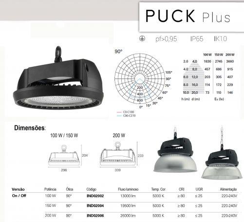 Sibilla Puck Plus 200W 90º 5000K IND02006